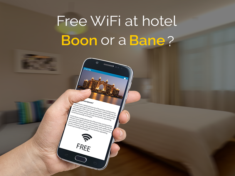 free WiFi for hotel guests