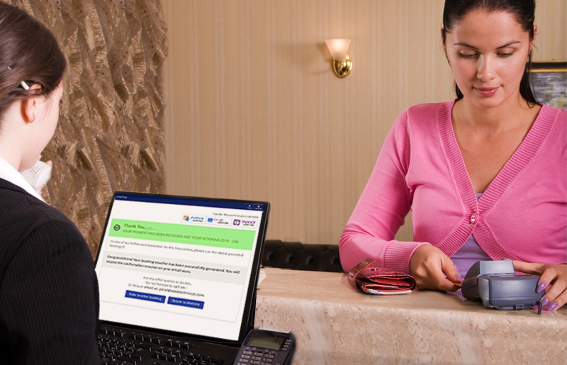 Hotel management made easier with cashless payment