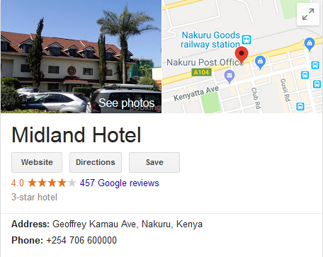 Google My Business listing as an innovative hotel promotion idea